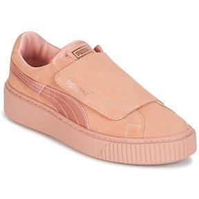 Xαμηλά Sneakers Puma PLATFORMSTRAP SATIN EP W'S ΣΤΕΛΕΧΟΣ: Δέρμα & ΕΠΕΝΔΥΣΗ: Δέρμα & ΕΣ. ΣΟΛΑ: & ΕΞ. ΣΟΛΑ: Καουτσούκ