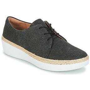 Xαμηλά Sneakers FitFlop SUPERDERBY LACE UP SHOES ΣΤΕΛΕΧΟΣ: Φυσικό ύφασμα & ΕΠΕΝΔΥΣΗ: Φυσικό ύφασμα & ΕΣ. ΣΟΛΑ: Φυσικό ύφασμα & ΕΞ. ΣΟΛΑ: Συνθετικό