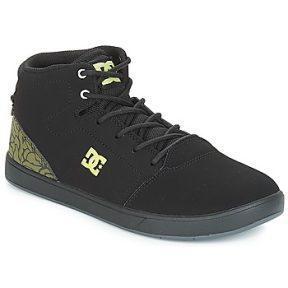 Ψηλά Sneakers DC Shoes CRISIS HIGH SE B SHOE BK9 ΣΤΕΛΕΧΟΣ: Δέρμα & ΕΠΕΝΔΥΣΗ: Ύφασμα & ΕΣ. ΣΟΛΑ: Ύφασμα & ΕΞ. ΣΟΛΑ: Καουτσούκ