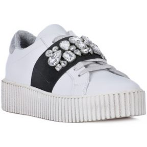 Xαμηλά Sneakers At Go GO GALAXY BIANCO ELSTICO