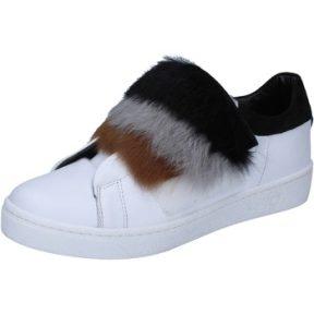 Sneakers Islo sneakers bianco pelle pelliccia BZ211