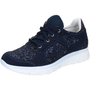 Xαμηλά Sneakers Hb Helene sneakers blu glitter camoscio BZ758