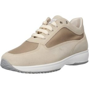 Xαμηλά Sneakers Saben Shoes sneakers beige camoscio tessuto AJ208