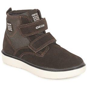 Ψηλά Sneakers Geox J RIDDOCK BOY ΣΤΕΛΕΧΟΣ: Δέρμα / ύφασμα & ΕΠΕΝΔΥΣΗ: Δέρμα / ύφασμα & ΕΣ. ΣΟΛΑ: Δέρμα & ΕΞ. ΣΟΛΑ: Καουτσούκ