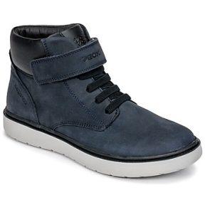 Ψηλά Sneakers Geox J RIDDOCK BOY WPF ΣΤΕΛΕΧΟΣ: Δέρμα και συνθετικό & ΕΠΕΝΔΥΣΗ: Ύφασμα & ΕΣ. ΣΟΛΑ: Δέρμα & ΕΞ. ΣΟΛΑ: Καουτσούκ