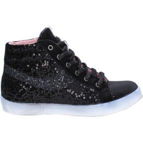 Ψηλά Sneakers Fiori Di Picche sneakers nero velluto paillettes BX345