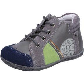 Xαμηλά Sneakers Enrico Coveri sneakers grigio camoscio pelle BX827